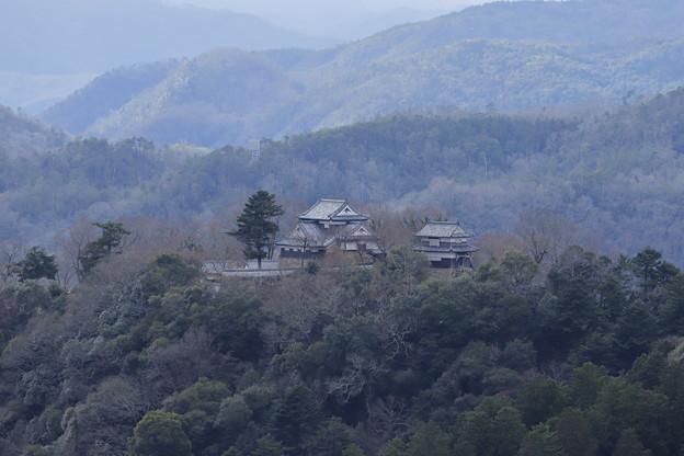 孤高の山城