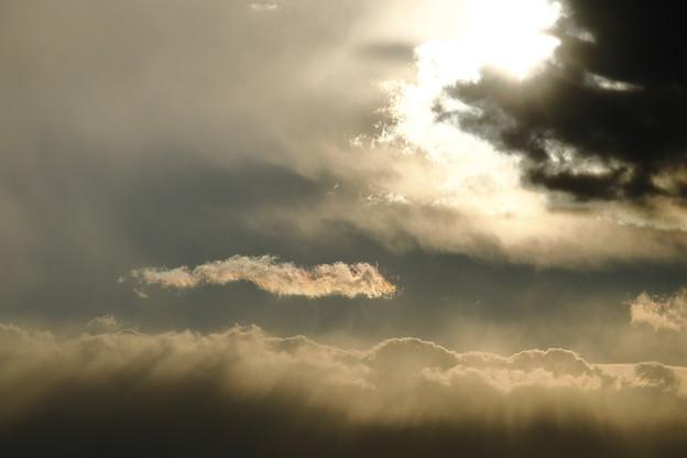 雲ほどけて