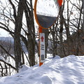 Photos: 真冬のカーブミラー