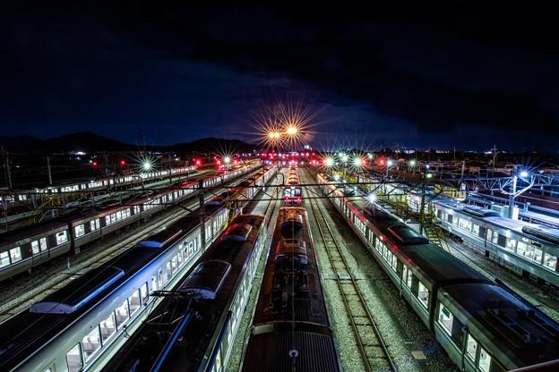 電車の休息