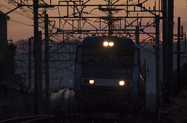 Photos: 夜明けのタンカー