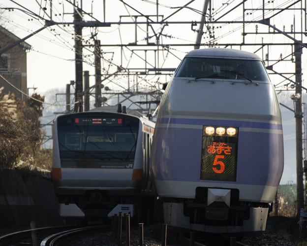 Photos: スーパーあずさGO!