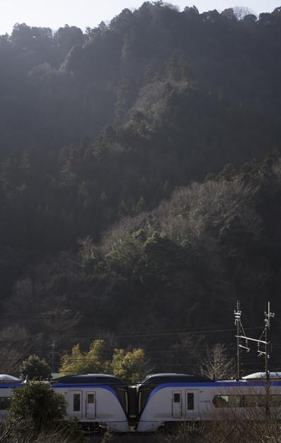 高尾山麓でKiss