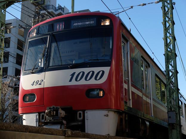 写真: 頼もしい通勤電車