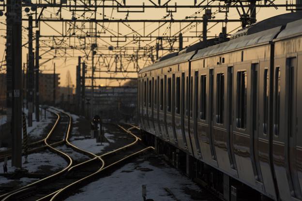 Photos: 東へ