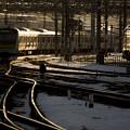 写真: 線路は続く