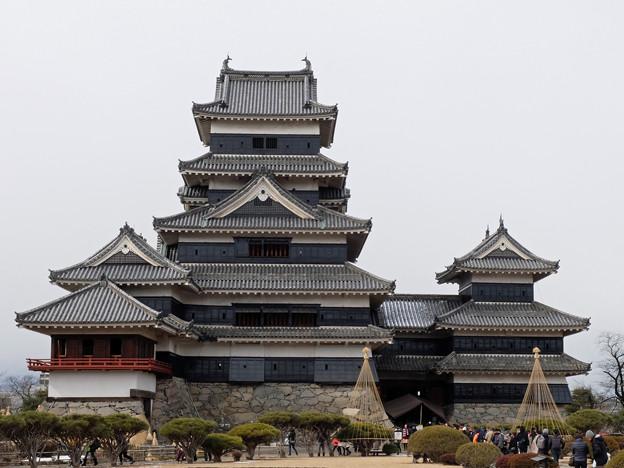 国宝、松本城