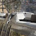 写真: 栄光の振り子列車