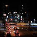 写真: 街中の離合
