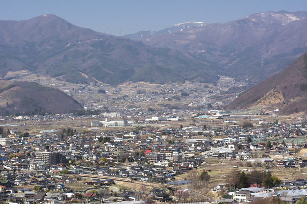 Photos: 甲府盆地を行く