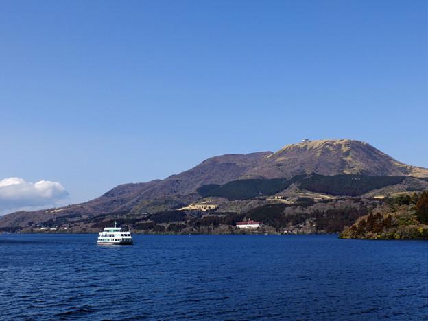 火山が造った湖