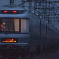 写真: 夜汽車