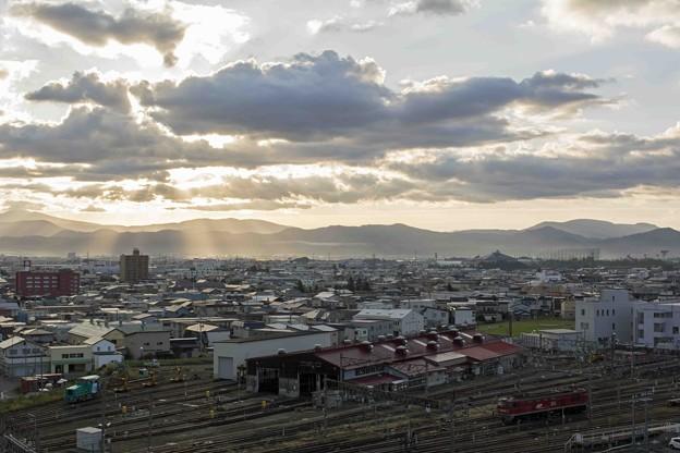 Photos: 天上界からの朝日