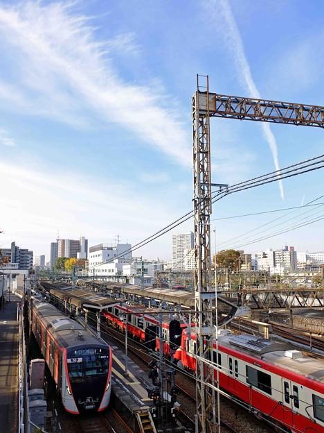 都営5500形、横浜に現る