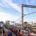 写真: 都営5500形、横浜に現る