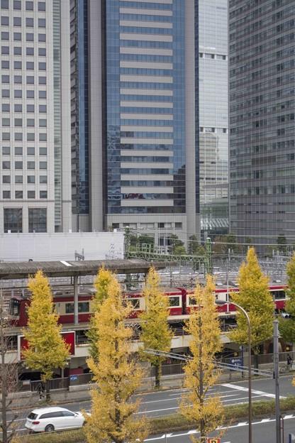 品川駅小俯瞰