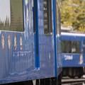 Photos: 青い電車