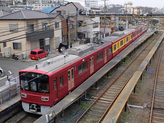 運行終了直後の「京急120年の歩み号」