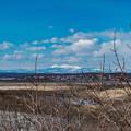 写真: 遠景の冬景色