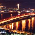 写真: 夜の大橋