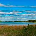 写真: ー雨上がりの塘路湖ー