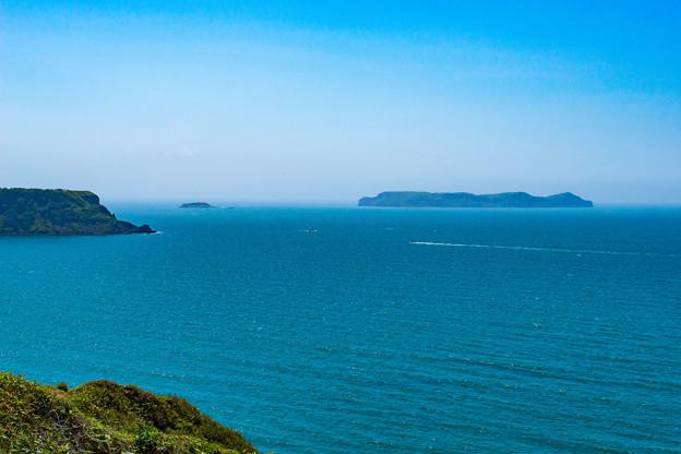 写真: ー愛冠岬より太平洋を望むー