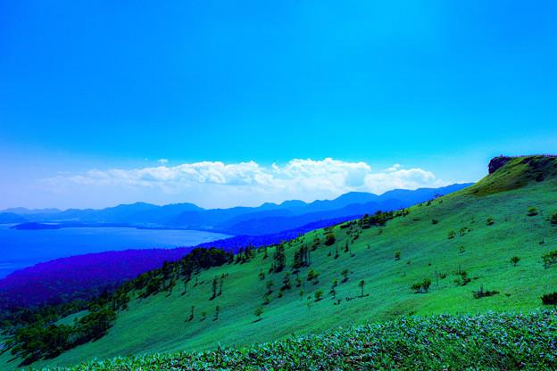 写真: ー美幌峠よりー