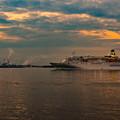 写真: ーぱしふぃっくびなすの出港ー