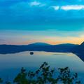 写真: ー摩周岳の御来光ー