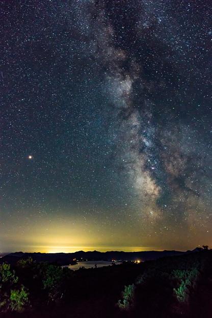 Photos: ー天の川と火星ー