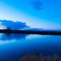 写真: ー湿原のブルーモーメントー