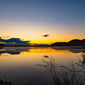 Photos: ー湿原に沈む夕日ー