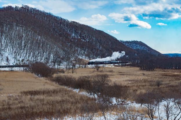 ーSL冬の湿原号ー