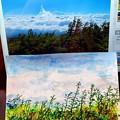 富士山6号目からの雲海