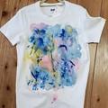 Photos: Tシャツでアート