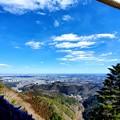 高尾山ビアガーデンからの眺め。