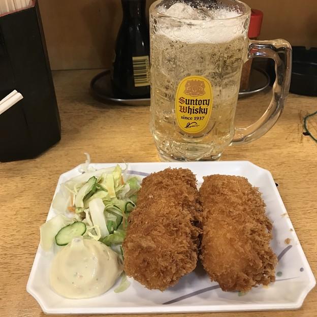 Photos: 大都会 クリームコロッケ