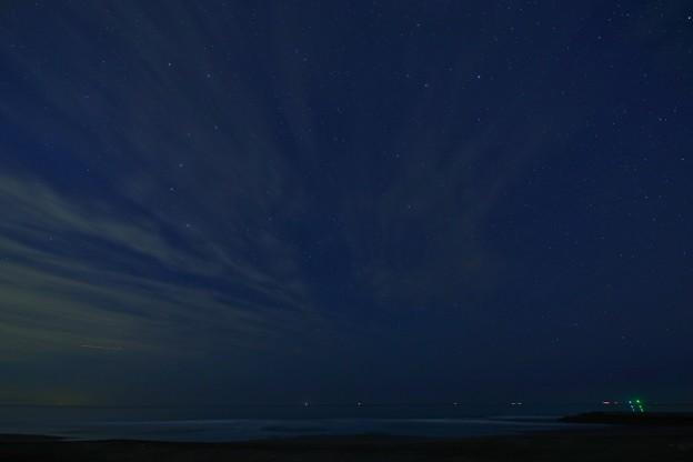 東浪見海岸の星空