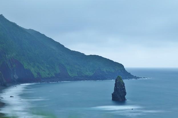 伊豆大島 筆島見晴台より