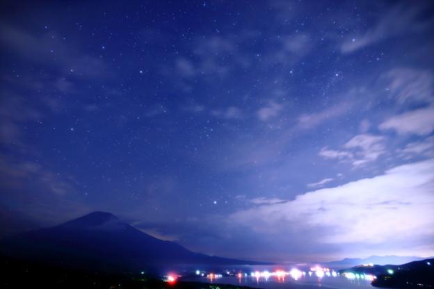 山中湖パノラマ台の星空