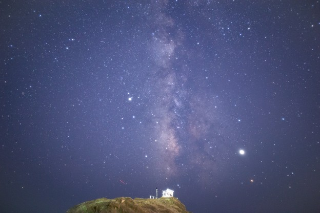 Photos: 野島崎灯台の天の川