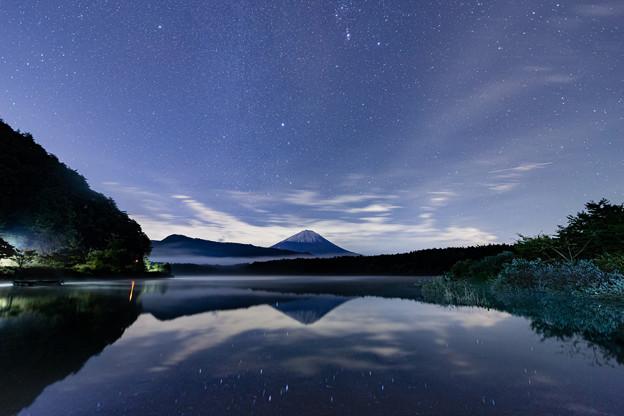 逆さ富士と星空 その4