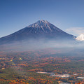 Photos: 鳴沢村 紅葉台より望む富士山 その2