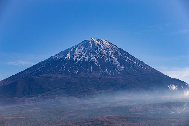 鳴沢村 紅葉台より望む富士山 その4