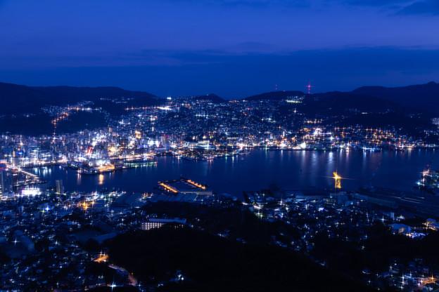長崎・稲佐山展望台からの夜景 その2