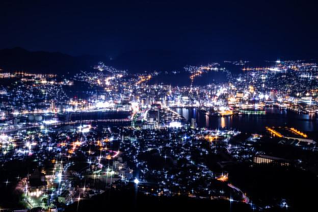 長崎・稲佐山展望台からの夜景 その3