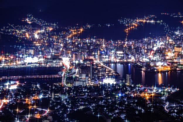 長崎・稲佐山展望台からの夜景 その4