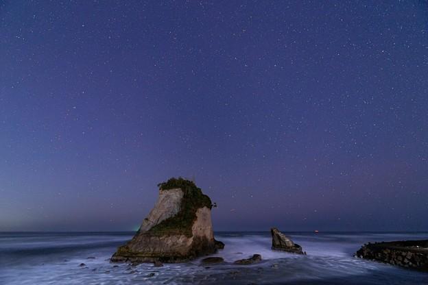 千葉・夫婦岩の星空 その1