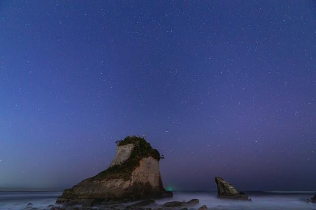 千葉・夫婦岩の星空 その2