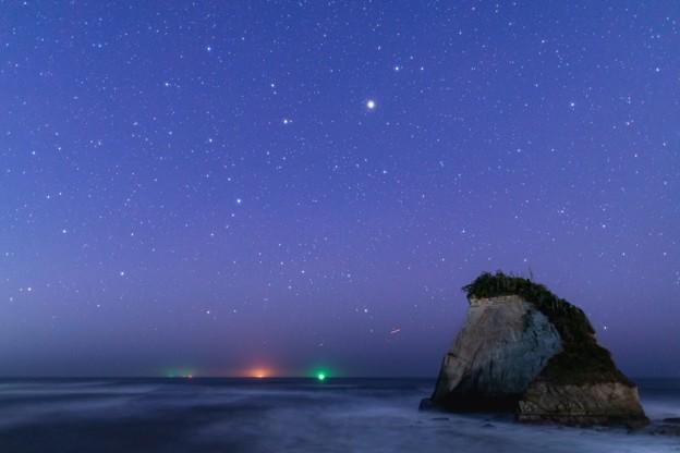 千葉・夫婦岩の星空 その3